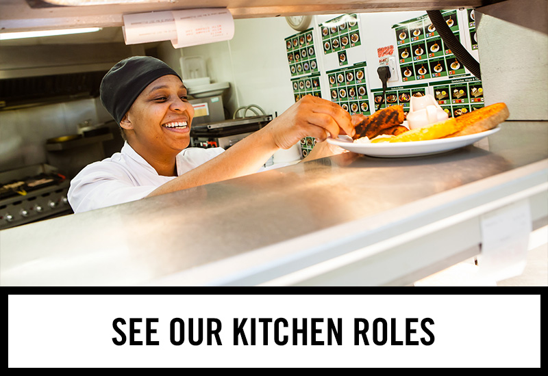 Kitchen roles at Harley